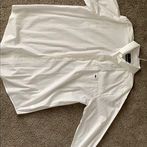Vineyard Vines XLT White Dress Shirt